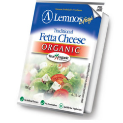 Organic Full Cream Fetta Cheese